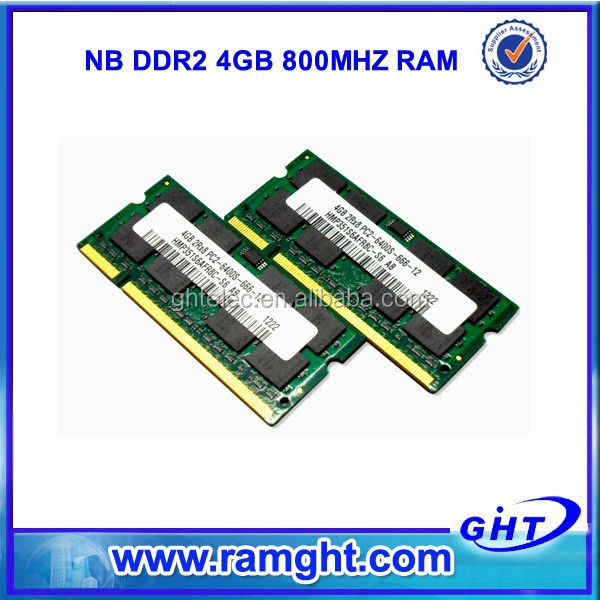 China wholesale market 2 pieces 2x4GB ram ddr2 8gb laptop memory accept secure payment