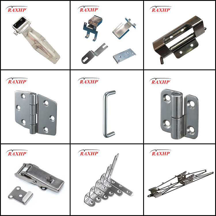 Africa market Hot Sale Factory Aluminum Door& Window Hinge Hardware Accessories Heavy Duty Stainless Steel Door Security Hinges