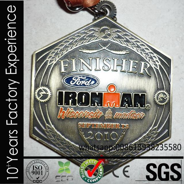 CR-ss704_medal stainless steel miami marathon medal for sell