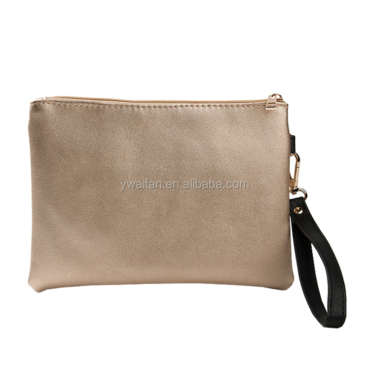 Wristlet Handbag Oversized Clutch Bag Purse Womens Large leather Evening Pouch