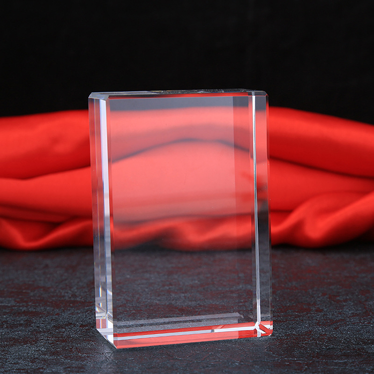 Wholesale k9 blank crystal cube for engraving 2D or 3D picture
