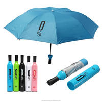 Customized Logo Bottle Umbrella