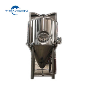 250 gallon conical fermentation tank double jacket container cerveza artesanal equipo, beer brewing equipment industrial brewer
