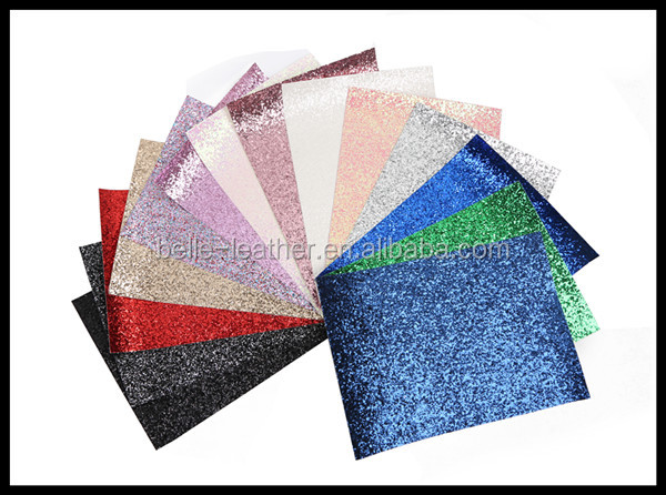 Glitter Fabric A4 Sheets For DIY Materials
