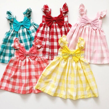 7ea07b79e66c Baby Cotton Frocks 2017 Latest Design Fashion Little Girls Short ...
