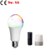 RGB WW CW 9W 14w Google Home Alexa Tmall Genie Voice Mobile Phone tuya APP Wireless Group Control speaker smart led light bulb