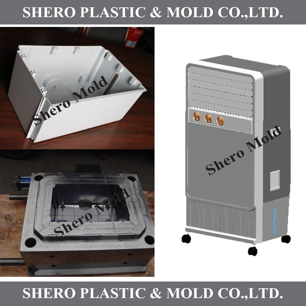 room use plastic injection air cooler mould by professional manufacturer