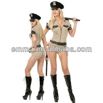 3f98fc907cf46 Sexy Police Officer Cop Fancy Dress Costume Bw1007 - Buy Sexy ...
