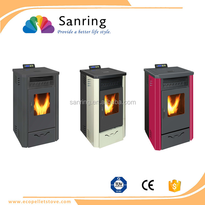 CE certification 13 kw pellet heater without smoke