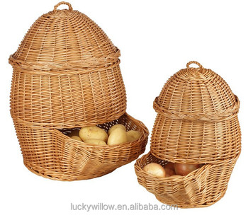 Honey Onion Storage Basket,potato Storage Basket,kitchen Storage Basket