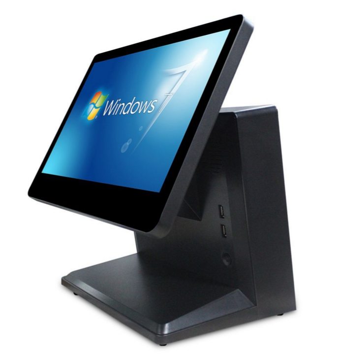 Monoblock Computer Terminal Hardware Point Of Sale Restaurant Pos All in One Touch Screen Pos System