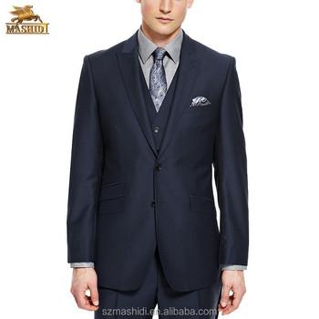 Three Piece Suits Coat Pant Latest Design Tuxedo Wedding Suit For ...