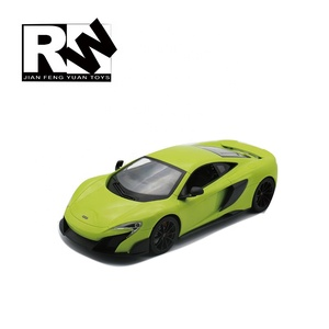 RW RC 124 scale race car for Radio Control Toys McLaren RC car with light