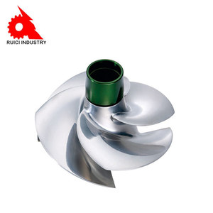 Custom high precision stainless steel jet water pump impeller
