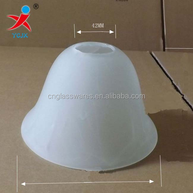 Beveled Glass Bell Lamp Shade