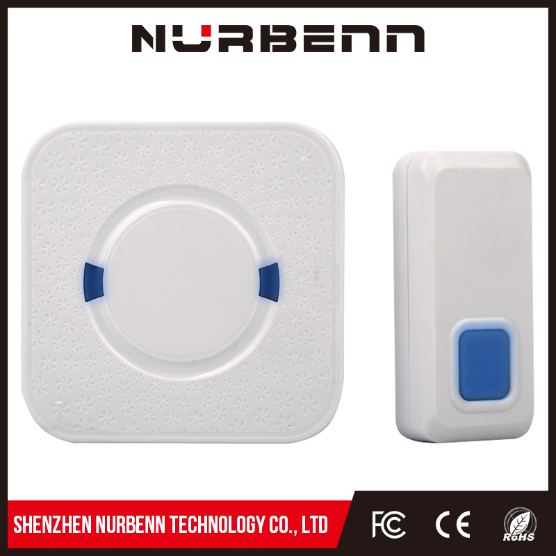Popular young style waterproof butter remote control wireless door bell for market