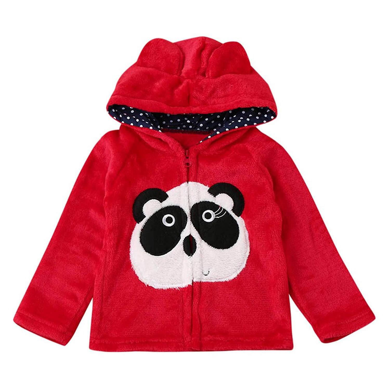 a897ad5c46373 Moonper Infant Toddler Kids Baby Boys Girls Winter Warm Cartoon Animal  Hooded Coat Cloak Jacket Warm