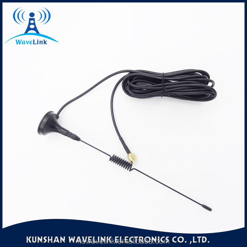 Free Sample High Quality Quad Band Magnetic Mount Antenna Sucker Mount gsm Antenna Huawei