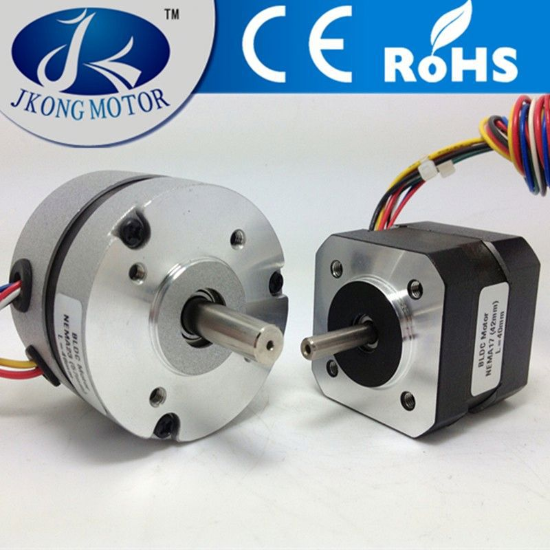 customed special flange nema 17 42mm brushless dc motor