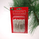 "Wire Ornament Hangers ""C-shape"" Christmas tree decorations"