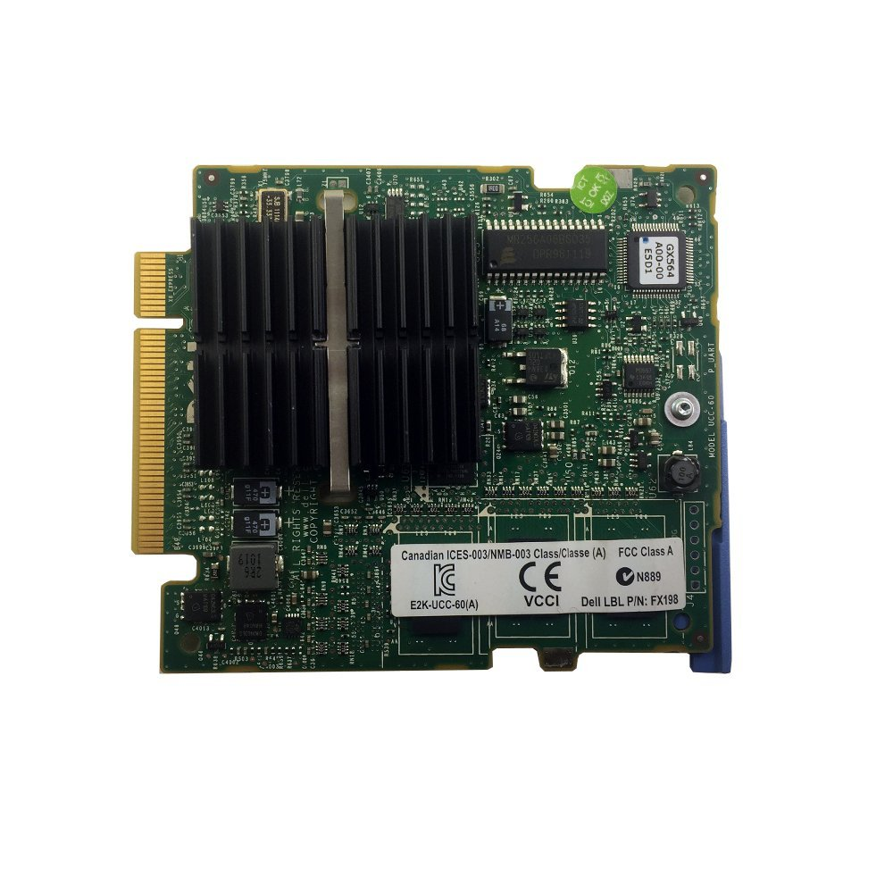 PERC 6/I PCI-E SAS RAID Controller Card HN793 For PowerEdge M600 M605 M610 0HN793 CN-0HN793