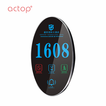 Touch Doorbell Intelligent Doorplate Hotel Room For Hotel Projects