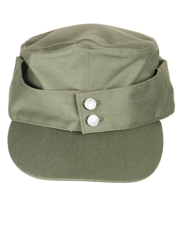 WWII WW2 GERMAN WH ELITE OFFICER M43 PANZER MEN/'S WOOL FIELD CAP HAT SIZE M