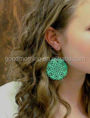 Classy Hand Painted Earrings