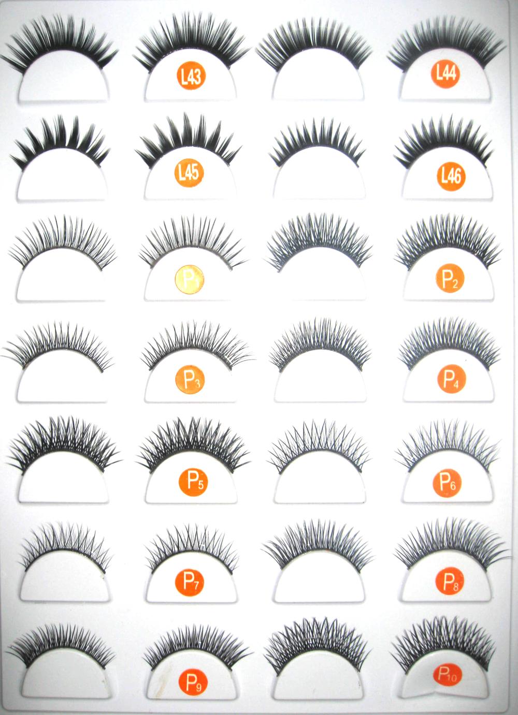 2015 Hot Sale Eyelashes Wholesale.false Eyelashes Human Hair Eye ...