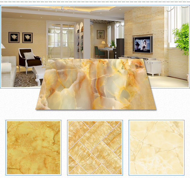 The best popular style high glossy luxurious brown pattern uv panel