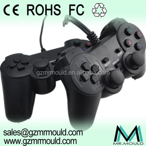 pc usb double vibration joystick 3mm mould game controller