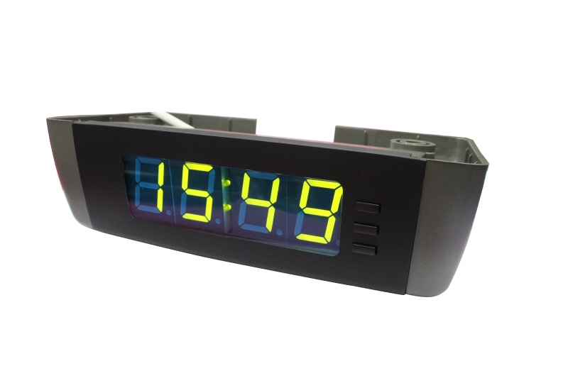 bus roof mounted electronic clock