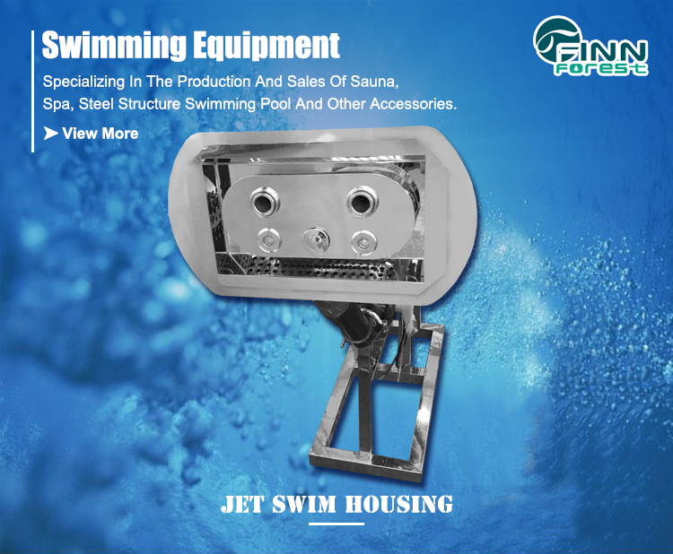 Portable Swimming Pool Accessories Training Counter Current Jet Swim Housing