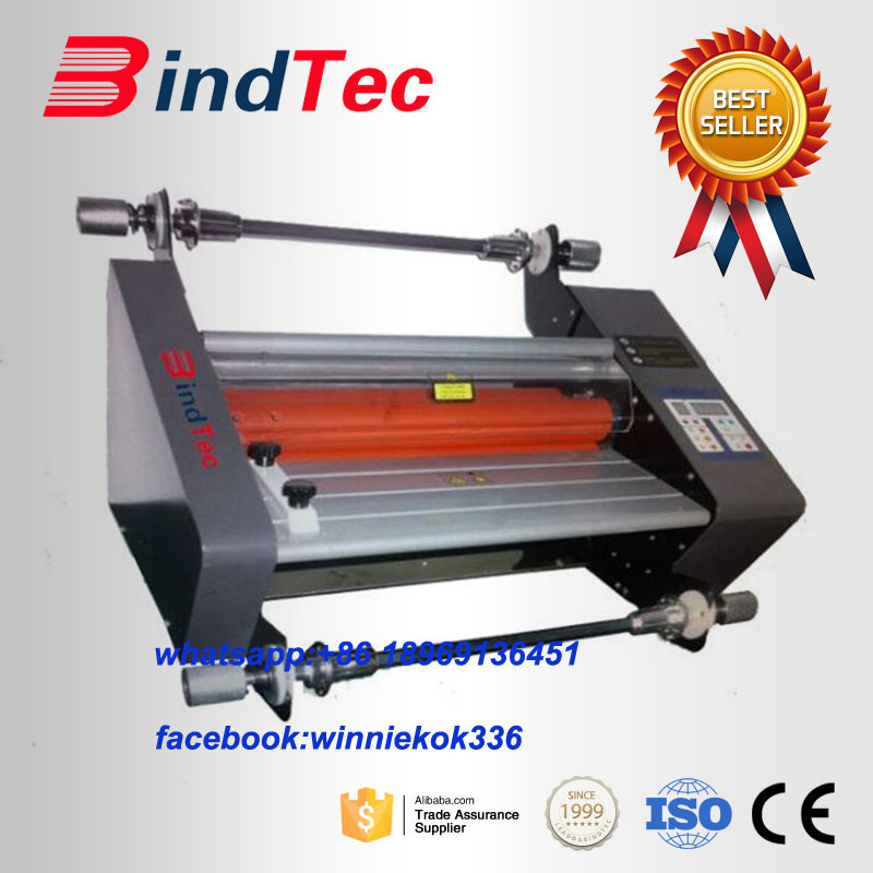 FM-360 Roll Hot and Cold Laminator 360mm Laminadora