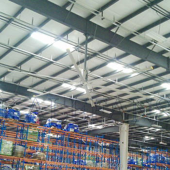I beam steel warehouse large cover cooling industrial ceiling fan i beam steel warehouse large cover cooling industrial ceiling fan aloadofball Choice Image