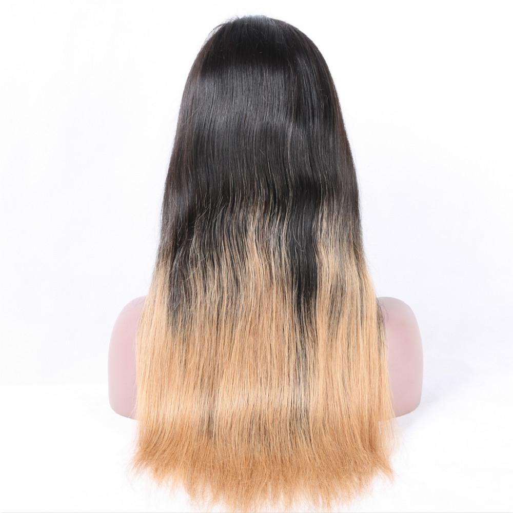 Grey Ombre Lace Front Pruik Hoge Kwaliteit Voor Vrouwen Maagd Menselijk Haar Lace Front Pruik Blonde Groothandel