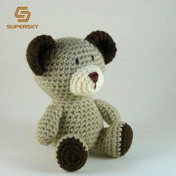 Free Crochet Teddy Bear Pattern | Crochet teddy bear, Crochet teddy bear  pattern, Crochet bear patterns | 350x350