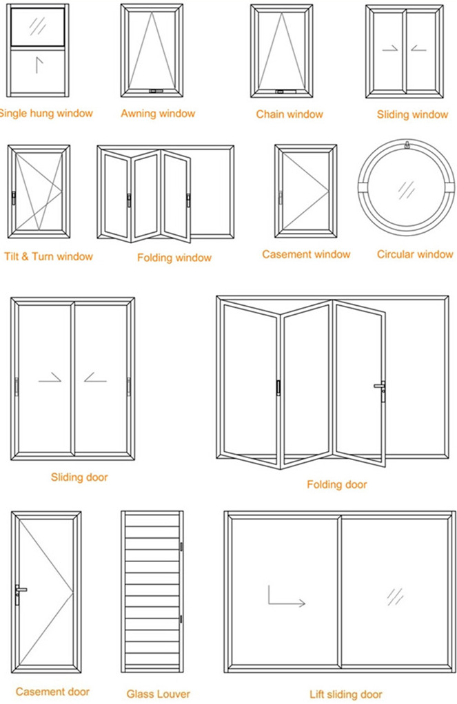Drawings Of Single Hung Windows : Window drawing designs open sc st