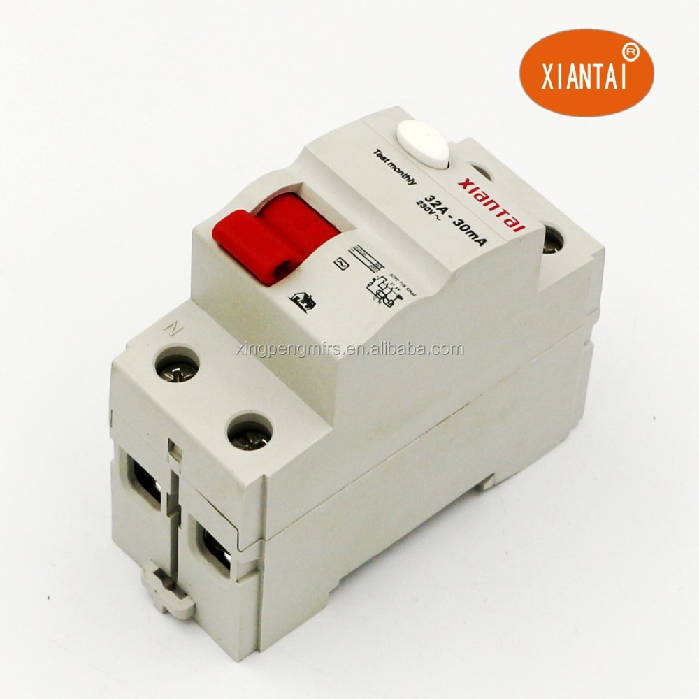 Chinese Earth Leakage Circuit Breaker,2pole 32amp 230v 30ma 50ma ...