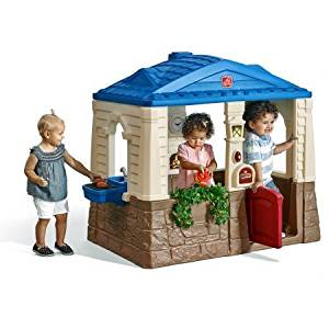 Naturally Playful Neat & Tidy Charming Cottage Playhouse by step2