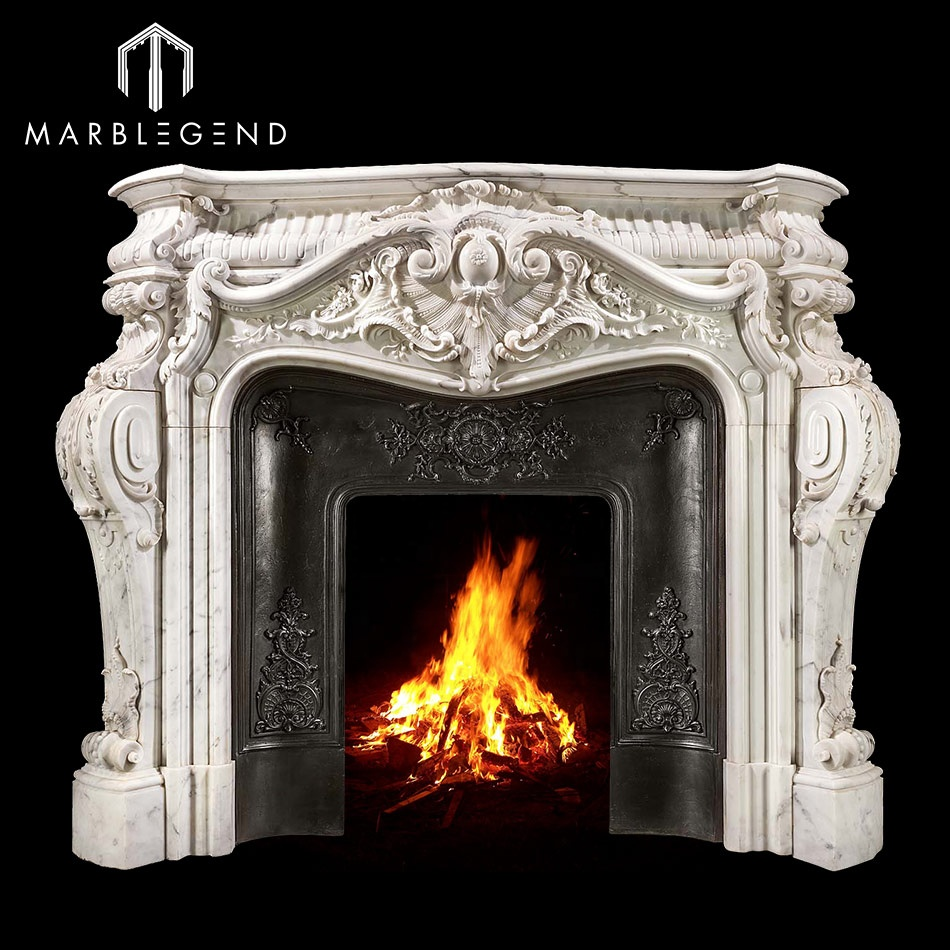 Latest Best Price Indoor Freestanding Marble Fireplace Mantel Buy