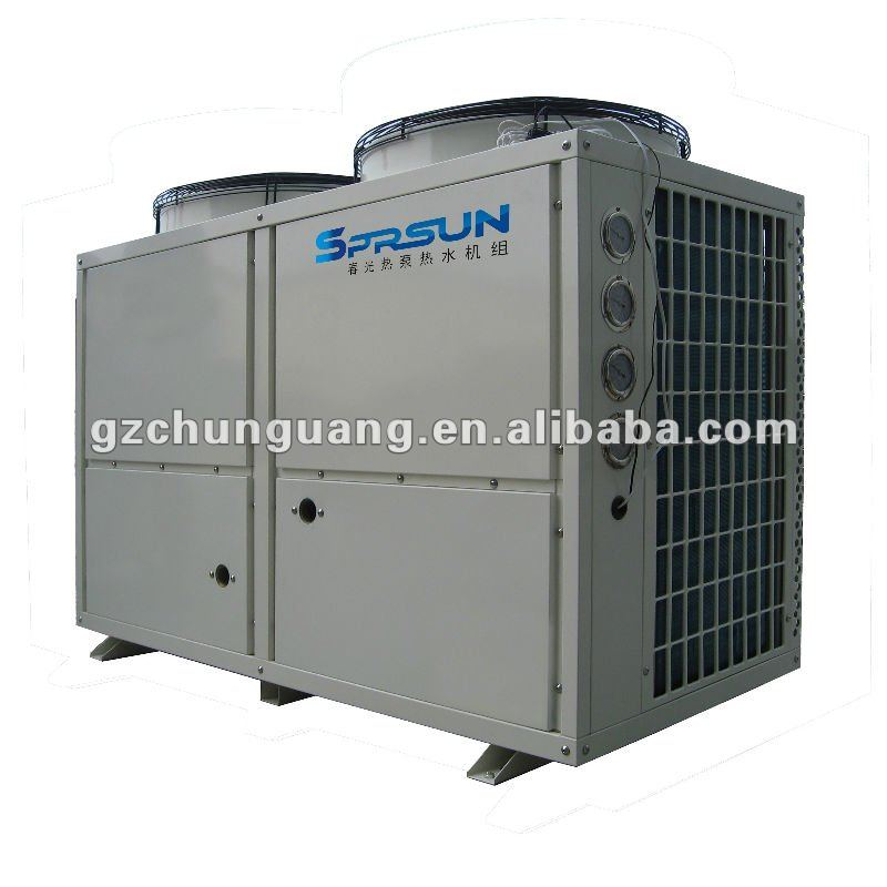 air to water heat pump air conditioner for commercial usage, 27.5kw cooling capacity