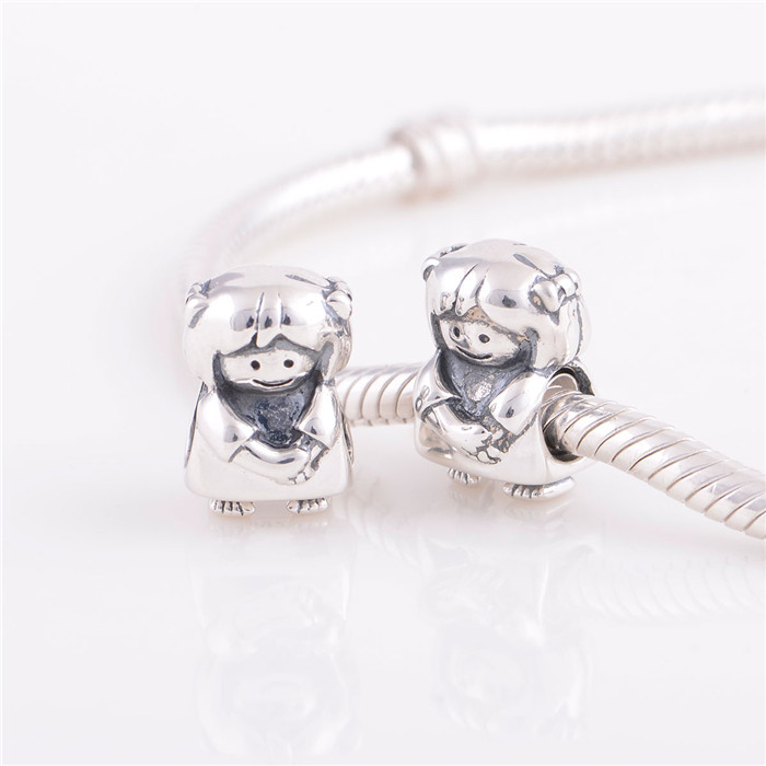 925 Silver Charm Jewelry Snap Charm