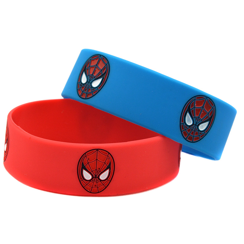 pretty silicone bangle for gift