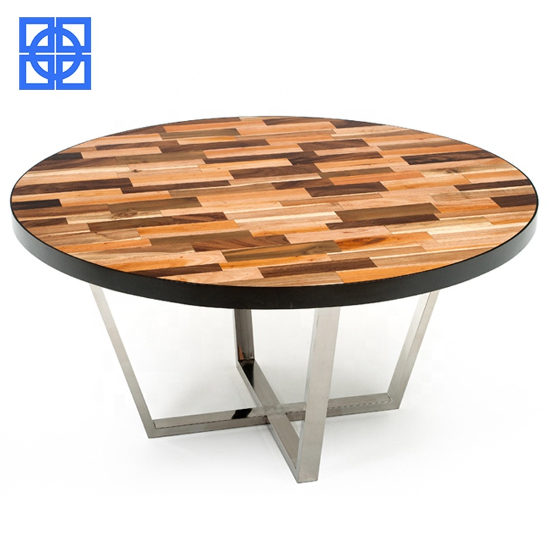 Modern Restaurant Dining Set Solid Wood Round Dining Table And 4 Chairs Buy Restaurant Round Table And Chairs Modern Restaurant Dining Set Dining Table And 4 Chairs Product On Alibaba Com