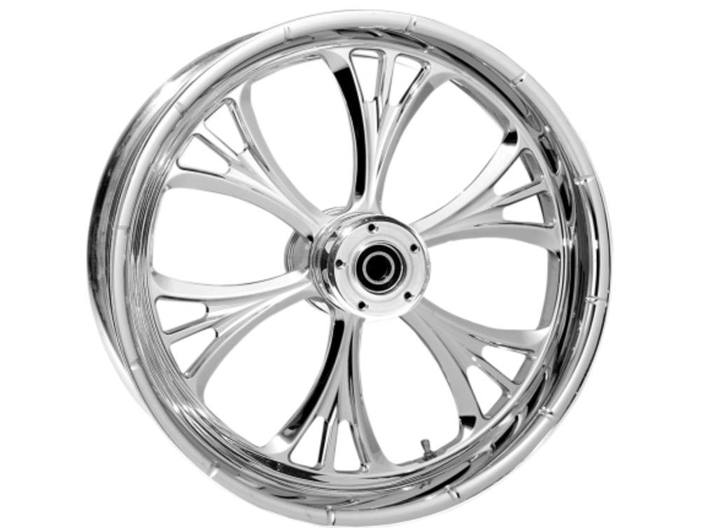 RC Components Majestic Forged Front Wheel (Single Disc) - 23x3.75in. - Aluminum (23) 237509032102C