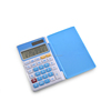 Three colors desktop solar calculator for students and work places