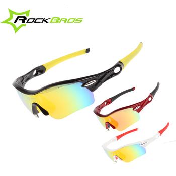 20adfb92f0 RockBros los polarizado de Color de arco iris lente ciclismo gafas de sol