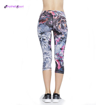 2245355136 Factory wholesale customized sublimation printing compression slimming dry  fit sportswear yoga fitness leggings women