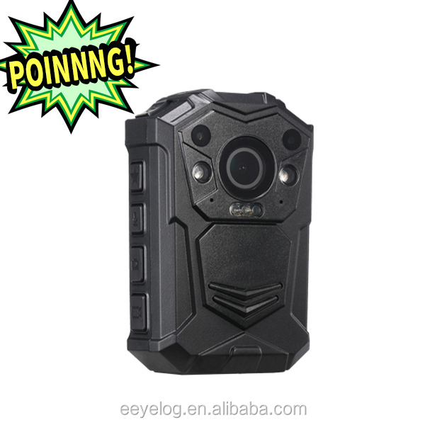 Excellent quality Ambarella chipset waterproof wireless body worn camera